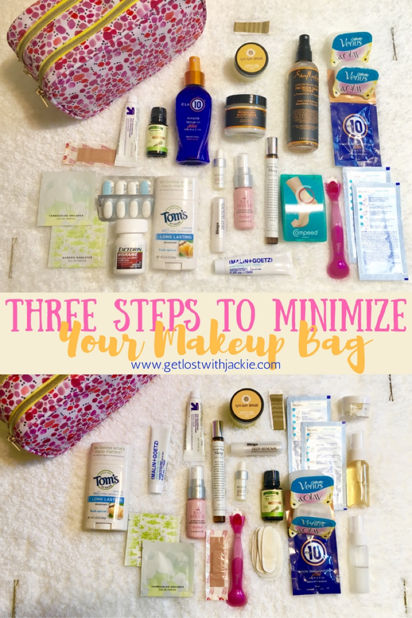 Three Steps to Minimize your Beauty, Skin and Hair Care for Long Term Travel