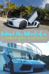 What it is Like Behind the Wheel of a Lamborghini Aventador - Get Lost With Jackie