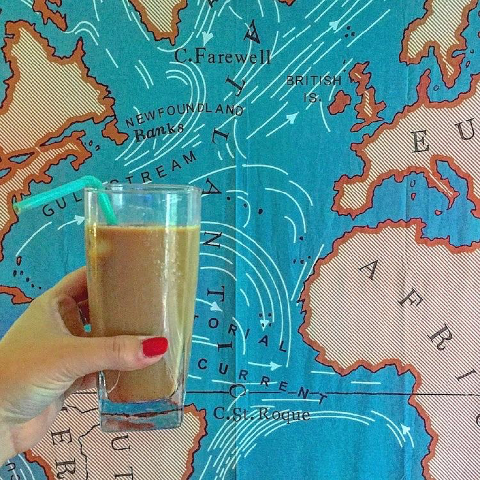 Low-Calorie Organic Iced Vanilla Latte Recipe - Get Lost With Jackie