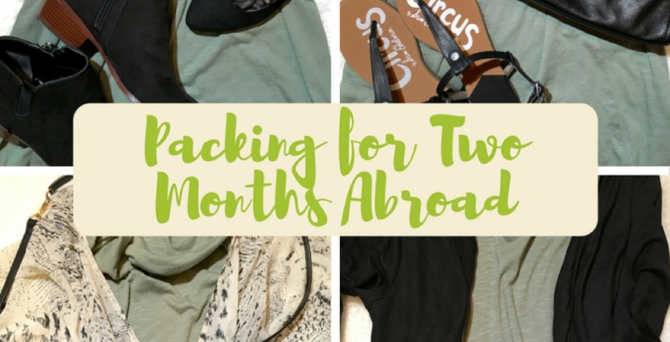 How to Pack Shoes for a Two Month Trip - Get Lost With Jackie