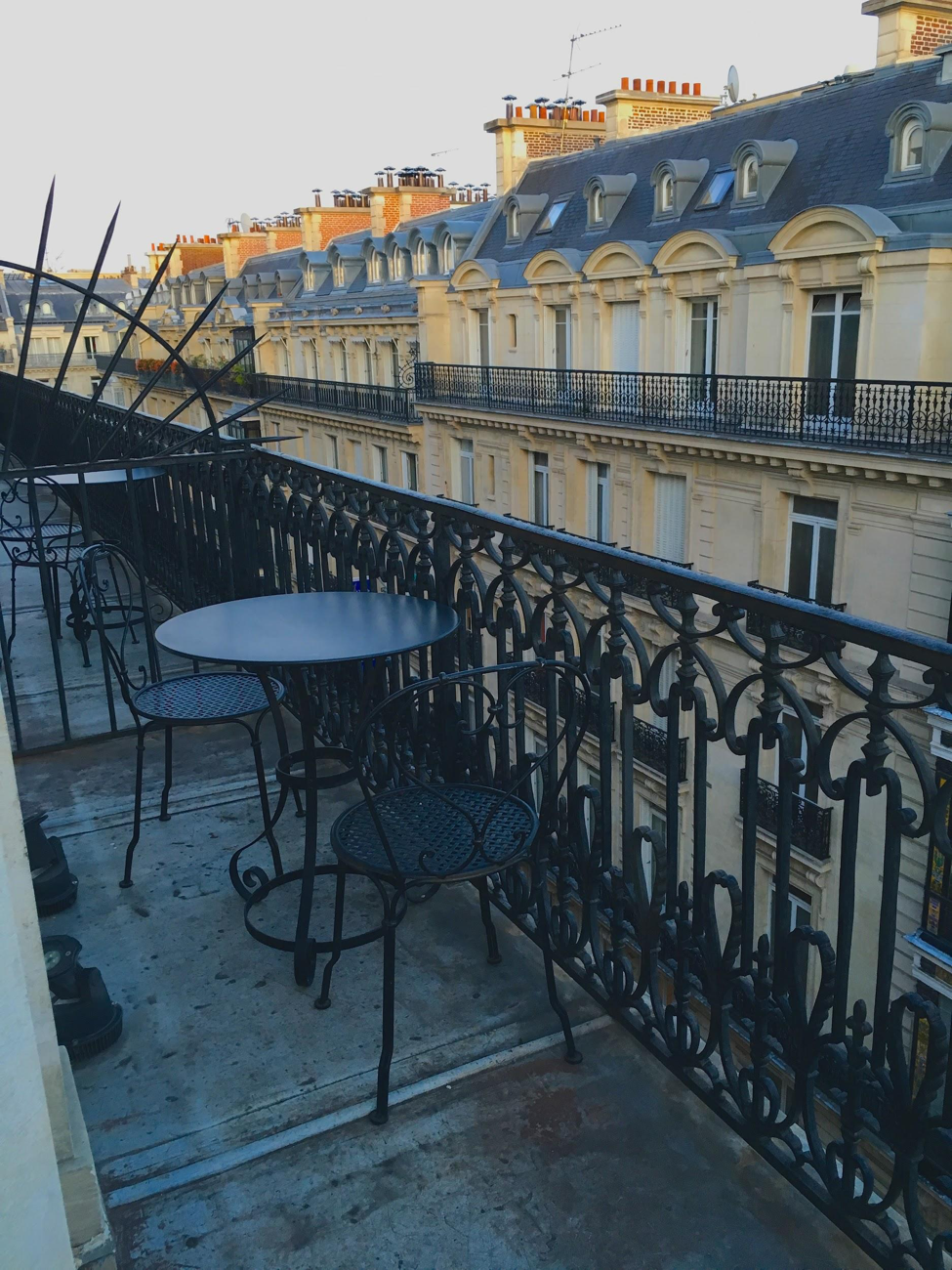 Another view from my wraparound balcony, a perfect place for breakfast.