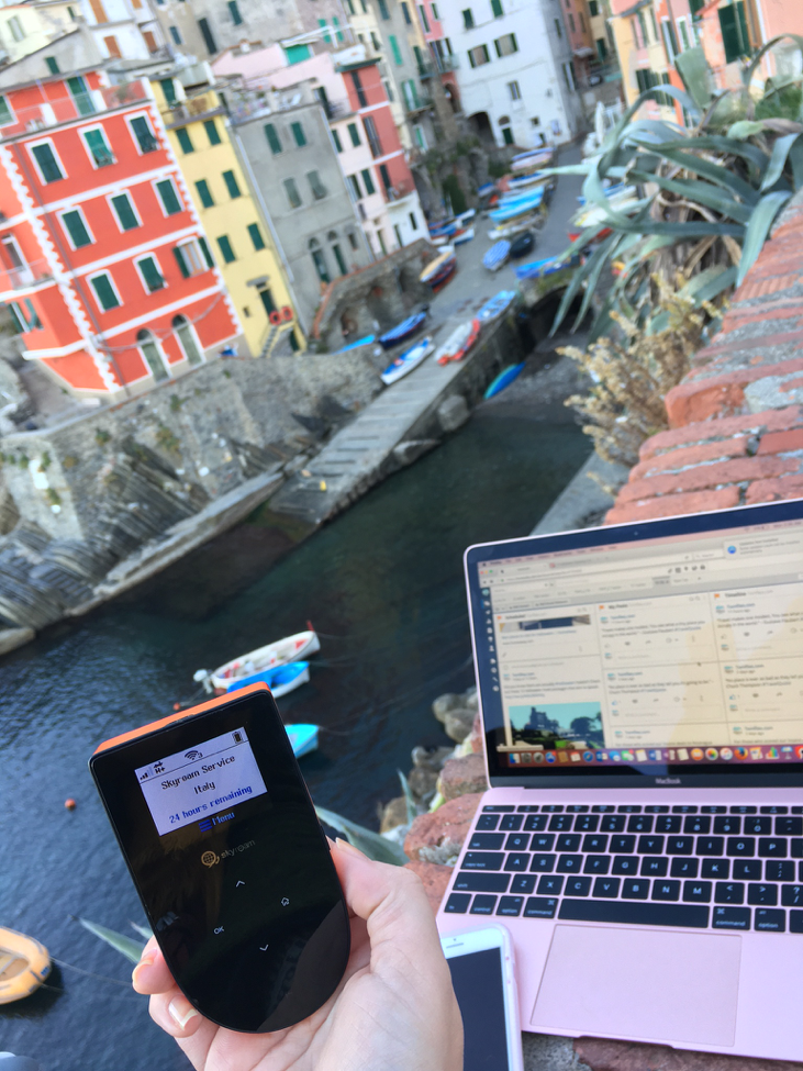 Never Worry About Finding a Wi-Fi Signal Abroad Again with Skyroam