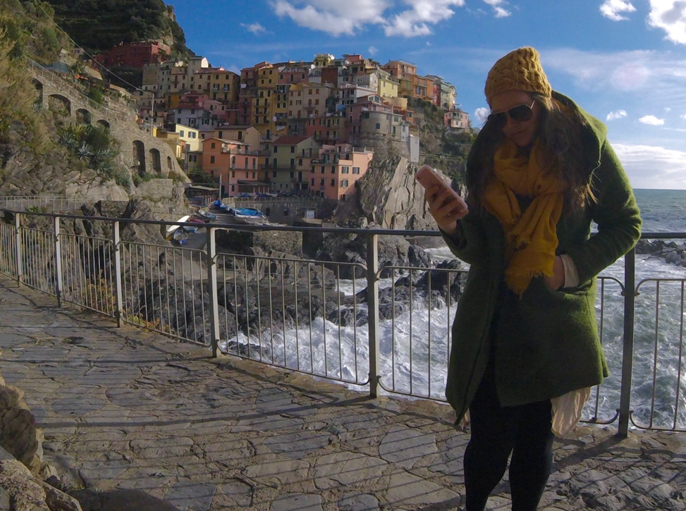 I'm pretty sure that the sky went out of its way to be a perfect #PinkHour almost every night I spent in Riomaggiore.