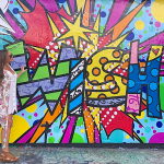 Exploring The Wynwood Walls in Miami with Polaroid
