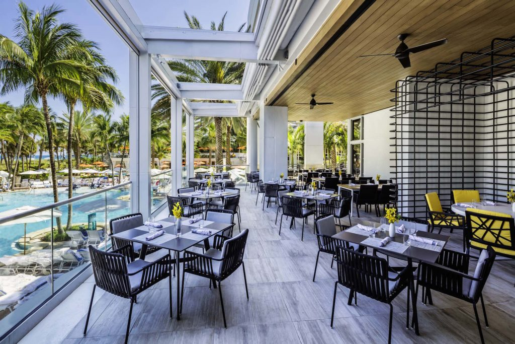 The Lowes Miami Beach is more than a hotel but an art experience in itself
