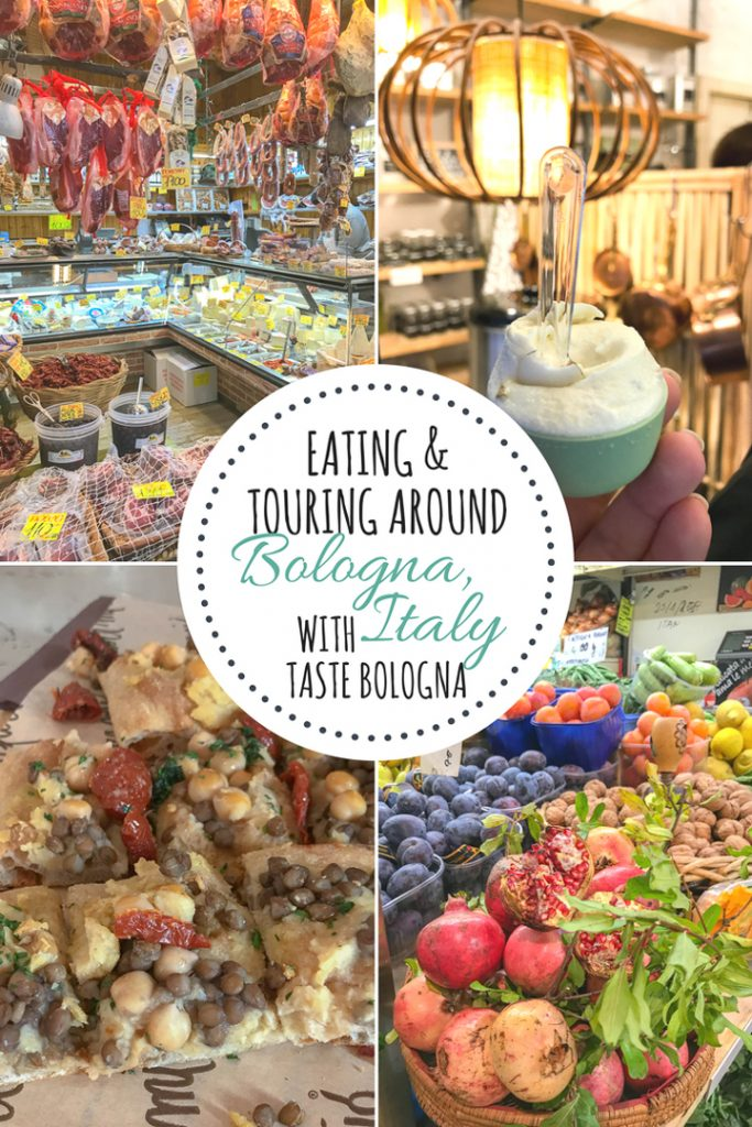 Food Tour of Bologna Italy with Taste Bologna