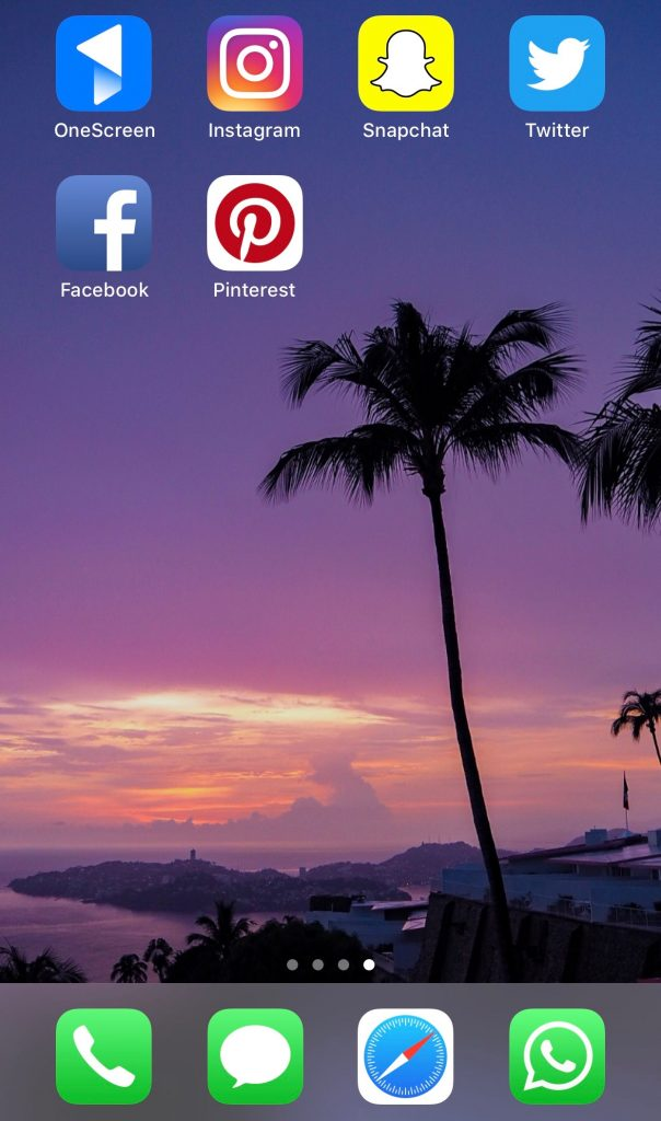 OneScreen travel app